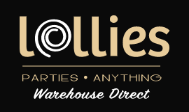 Lollies Parties Anything Logo