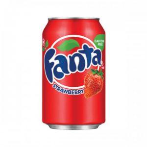 Fanta Strawberry 355mL (USA) x 12