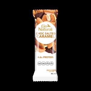Go Natural Chocolate Salted/Caramel 40g x 16