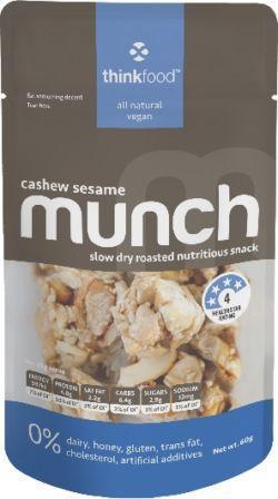 Munch Cashew Sesame 60g x 12