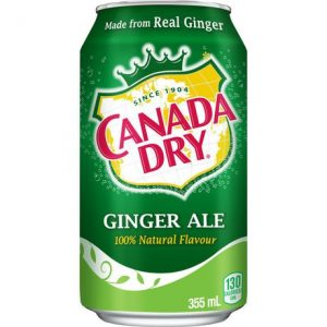Canada Dry Ginger Ale 355mL (USA) x 12