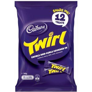 Cadbury 168g Twirl Sharepack x 12