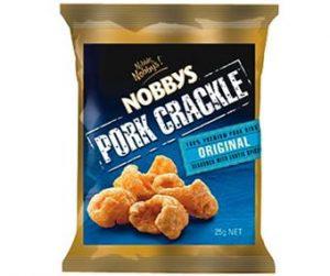 Nobbys Pork Crackle Original 25g