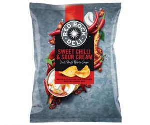 Red/Rock Sweet/Chilli & Sour/Cream 45g