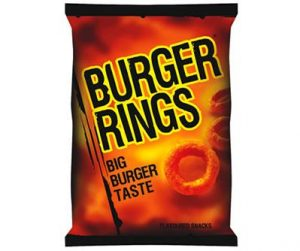 Smiths 220g Burger Rings