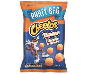 Smiths Cheetos 190g Cheese & Bacon Balls