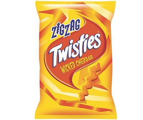 Twisties 125g Zig Zag