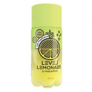 Level Lemonade Pineapple 300ml x 6