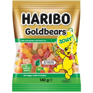 Haribo Sour Goldbears 140g x 14