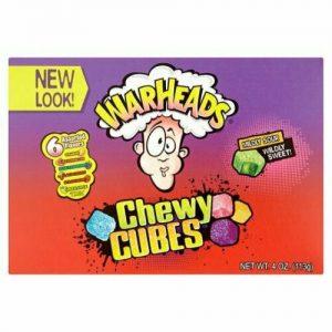 Warheads Chewy Cubes Movie Box 113g x 12