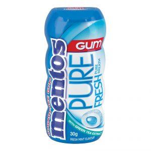 Mentos Pure Fresh Freshmint Gum 30g