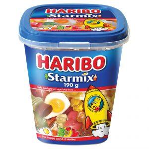Haribo Star Mix Cups 190g x 12