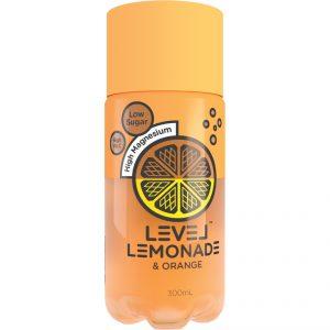 Level Lemonade Orange 300ml x 6