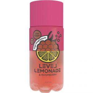 Level Lemonade Raspberry 300mL x 6