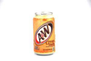 A&W Creaming Soda 355mL (USA) x 12