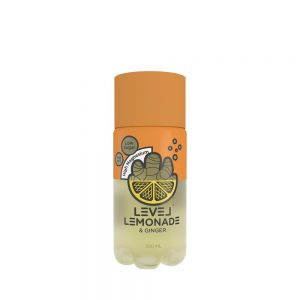 Level Lemonade Ginger 300ml x 6
