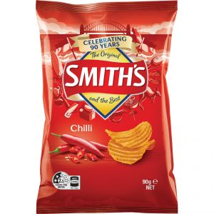 Smiths 90g Crinkle Cut Chilli