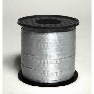 Silver Curling Ribbon 460m