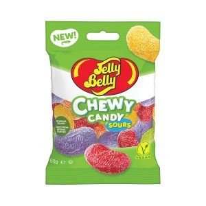 Jelly Belly 60g Sour Assorted Bag x 12