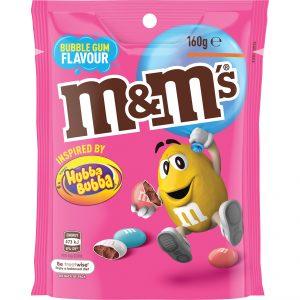 M&Ms Bubblegum 160g x 18