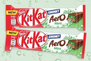 Nestle Kit Kat Aero Mint 45g x 36
