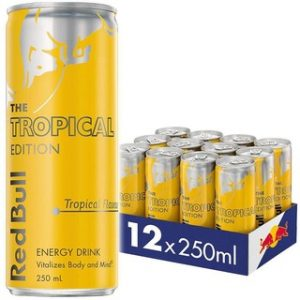 Red Bull Tropical 250ml Cans x 12