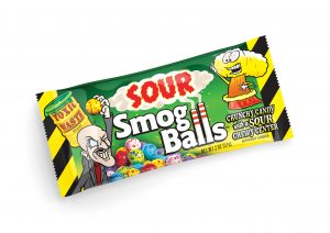 Jelly Belly Toxic Waste Sour Smog Balls x 12