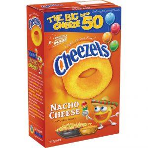 Cheezels 110g Nacho Cheese (box)