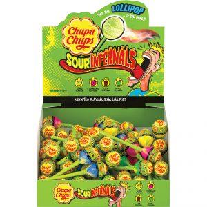 Chupa Chups Sour Infernals 9.5g x 50