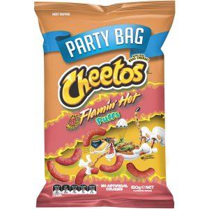 Smiths Cheetos 150g Puffs Flamin Hot