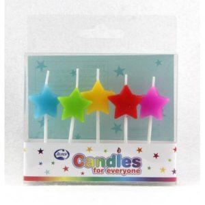 Star Candles 5pk