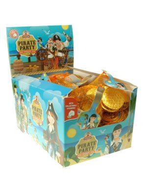 Pirate Milk Chocolate Coins 30g
