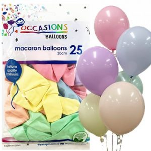 Balloons Macaron Assorted Colours 30cm