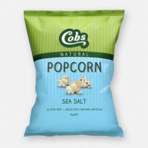 Cobs Sea Salt Popcorn 20g