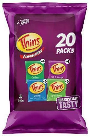 Thins Variety Multipack 380g