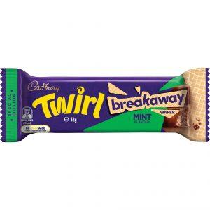 Cadbury Twirl Mint Breakaway 32g