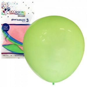 Alpen Giant Balloons 90cm 3pk